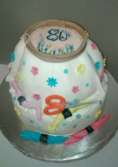 Needle point cake by Celestial Create