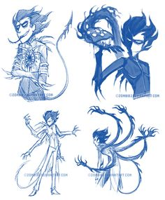 Shadow Conjuring sketches by ZombiDJ on DeviantArt
