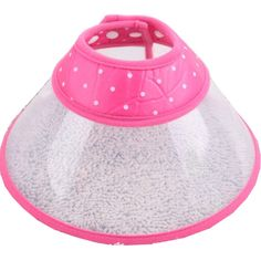 White Polka Dot Plastic Pet Recovery Collars (pink, L) by New Trends * You can get additional details at the image link. (This is an affiliate link and I receive a commission for the sales) Pet Dogs, Pets, Dog Itching, Dog Dental Care, Dog Training Pads, Dog Food Storage, Dog Shower, Dog Shedding, Dog Diapers