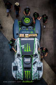 """Ballistic"" B.J.Baldwin's Monster Energy/Toyo Sponsored Trophy Truck"