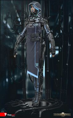 Exoskeleton suit(2), Mihail  Vasilev on ArtStation at https://www.artstation.com/artwork/exoskeleton-suit-2