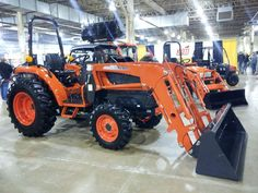 For serious landscape work, count on Kioti tractors at Medina Tractor Sales to get the work done.