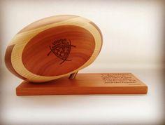 UBB Ballon de rugby en bois