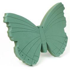 Butterfly Oasis Floral Foam Frame Tribute Shape
