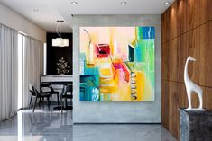 Large Modern Wall Art Painting,Large Abstract wall art,painting for home,abstract originals,abstract wall art Large Abstract Wall Art, Large Canvas Art, Large Wall Art, Unique Paintings, Abstract Paintings, Painting Art, Bedroom Paintings, Oversized Wall Art, Colorful Artwork