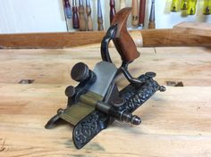 Lee's Patent Stop Chamfer Plane Woodworking Hand Planes, Antique Woodworking Tools, Antique Tools, Old Tools, Vintage Tools, New Technology Gadgets, Tool Box, Blacksmithing, Metal Working