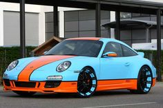 Oxigin's Gulf Racing Style Porsche 911 - Carscoop
