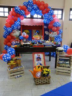 Decoração de Festa Galinha Pintadinha | Doce de Biscuit | Elo7