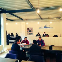 A view of Shhared today #coworking #hamburg