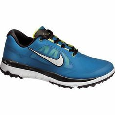wholesale dealer 8c42c a76b2 Nike Golf FI Impact Golf Shoes 2014 Mens Spikeless Golf Shoes, White Golf  Shoes,