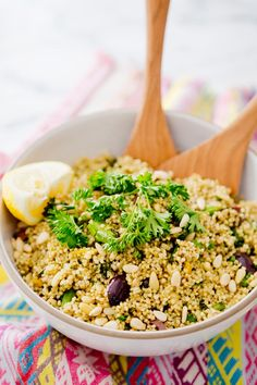millet and broccolini salad – A House in the Hills