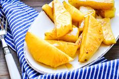 Gegrillte Ananas mit Honig I Tiny Spoon