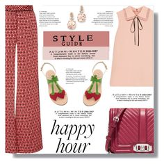 """Happy Hour, again!"" by drigomes ❤ liked on Polyvore featuring Miu Miu, Johanna Ortiz, Cornetti, Rebecca Minkoff and BillyTheTree"