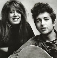 Bob Dylan and Suze Rotolo.