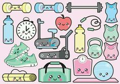 Workout Kawaii