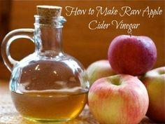 How to make raw apple cider vinegar