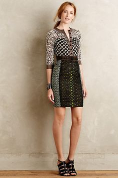 Melodist Pencil Dress #anthropologie