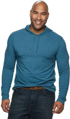 d6ecdb2e69 Sonoma Goods For Life Big & Tall SONOMA Goods for Life Modern-Fit Supersoft  Henley