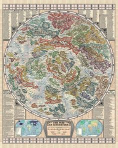 The Map of Literature is featured in his new book, Vargic's Miscellany of Curious Maps: Mapping out the Modern World.
