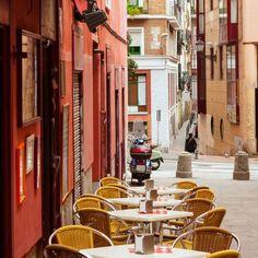 Picturesque café in Madrid
