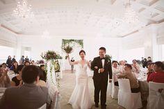 Stephen and Doreen's Garden Tea Party Wedding at Fullerton Hotel