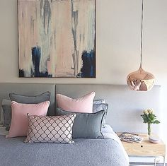 pink and grey - love it