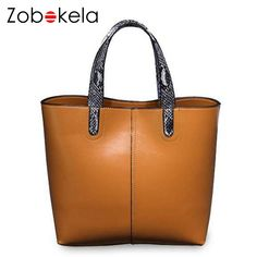 Bokinslon Leather Handabgs For Woman Split Leather Solid Color Women  Fashion Bags Large Capacity Elegant Female Handbag Bags. Women Bag  Wholesalers 4b24aae8a7