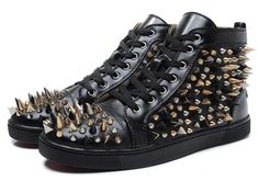 da5f30c6812f christian louboutin replica shoes high quality AAA+ leather shoes men shoes  women casual shoes red bottom rivets flats shoes price 82 dollars european  size ...