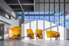 Image 1 of 17 from gallery of Oakland University Engineering Center / SmithGroupJJR. Photograph by Jason Robinson Photography