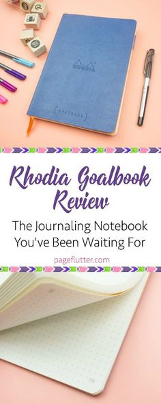 Rhodia Goalbook Review! Finally, the best paper in a perfect notebook for Bullet Journaling.