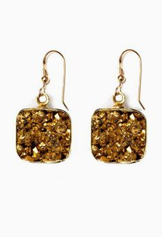 Lacy Gold Earrings love these!:)
