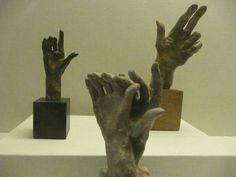 Rodin—Various hands