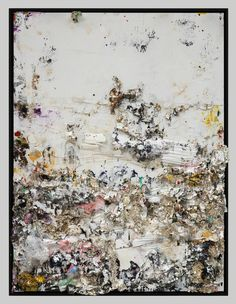 Michael Chow aka Zhou Yinghua, Rite of Spring Mixed media: household paint with precious metals & trash, x 183 cm, Courtesy the artist and Pearl Lam Galleries, Photography: Fredrik Nilsen Modern Art, Contemporary Art, Chow Chow, Surreal Art, Portrait Art, Abstract Art, Abstract Paintings, Art World, New Art