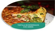 LOS TELARES DE SIL: TORTILLA DE ESPÁRRAGOS Y JAMÓN {MUY RICA}
