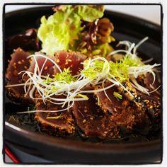 Recetas de cocina japonesa: Como preparar Tataki de atún   Taka Sasaki