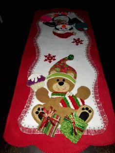 Elegant Christmas, Christmas Holidays, Christmas Decorations, Holiday Decor, Christmas Stocking Kits, Felt Christmas Stockings, Christmas Runner, Bird Houses Diy, Diy Shops