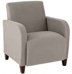 Siena Club Chair SIE-1401 - Siena club chairs will keep your visitors cozy as they wait for meetings or appointments. Ample seats and armrests provide such great support that they just might prefer to wait a little longer.