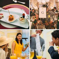 様々なおもてなしに、ゲストも自然と笑顔に・・・・✩ #Brideal #wedding #original #ordermade #ideas #fireworks #garden #green #yellow #ceremony #ブライディール #ウェディング #オリジナル #オーダーメイド #結婚式 #花火