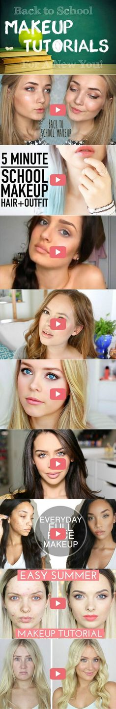 15 Back To School Makeup Tutorials For A New You | Step by Step Video Tutorial by Makeup Tutorials at http://makeuptutorials.com/back-to-school-makeup-tutorials/