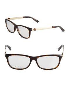 SAINT LAURENT 50Mm Rectangle Optical Glasses. #saintlaurent #glasses