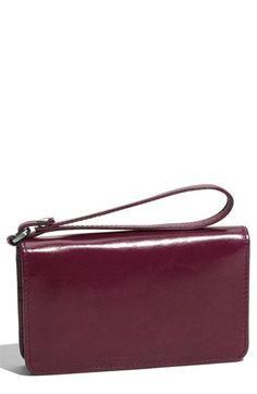 Hobo 'Ally Vintage' Leather Wristlet