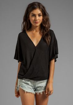 NATION LTD Solvang Top in Black at Revolve Clothing - Free Shipping!