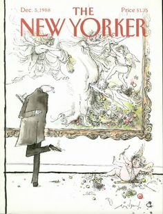 The New Yorker, New Yorker Covers, Illustrations, Book Illustration, St Trinians, Ronald Searle, Pop Art, Magazine Art, Magazine Covers