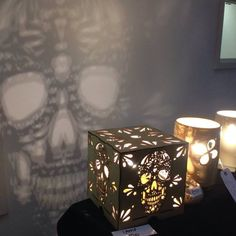 Wow, how beautiful is it. The shadow is amazing. See here => http://tidd.ly/8974a459 #mysugarskulls