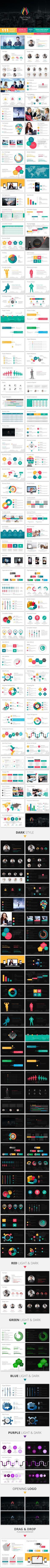 Startup Pitch Deck PowerPoint Template // Inspiration for the EMRLD14 Team // www.emrld14.com
