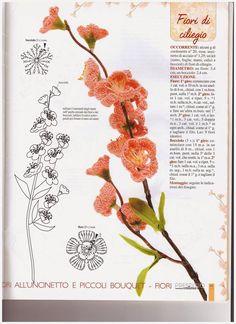 tanti fiori uncinetto | Hobby lavori femminili - ricamo - uncinetto - maglia
