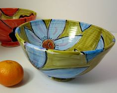 Serving bowl from Etsy