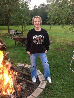 Customer Photo of the Week -  Fire Pit Fun! #inkpixipics http://blog.inkpixi.com/customer-photos/customer-photo-of-the-week-11/