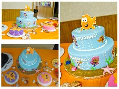 bubble guppies party ideas | Bubble Guppies Birthday Cake