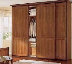 closets modernos en madera - Buscar con Google